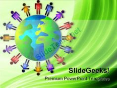 World People PowerPoint Template 1010 #PowerPoint #Templates #Themes #Background