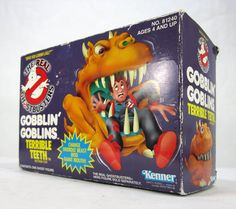 Vintage 1980's Kenner Real Ghost Busters Gobblin' by TurnerVintage, $18.00