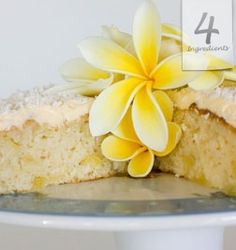 Pineapple Cake ---- 2 cups Self Raising Flour -- 1 cup Caster Sugar -- can Crushed Pineapple - Oven 40 to 45 min Cake Frosting Recipe, Frosting Recipes, Cake Recipes, Dessert Recipes, Egg Free Recipes, Sweet Recipes, Pineapple Cake, Pineapple Coconut, Crushed Pineapple