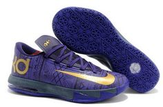 Nike Kevin Durant KD VI BHM Shoes $45.00