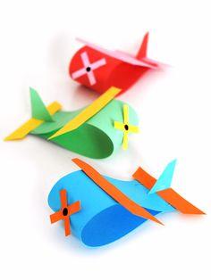 Paper Loop Airplane Craft