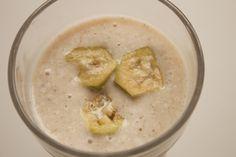 feijoa and banana smoothie!