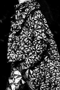 Issey Miyake AW15, Dazed backstage, Womenswear, Paris