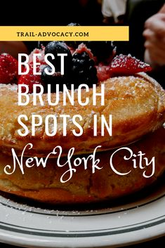 Our Favorite Brunch Places in NYC - Trail Advocacy Brunch Nyc, Brunch Spots, Best Brunch Places, Best Places To Eat, French Restaurants, Great Restaurants, Savory Crepes, Foodie Travel, Food Inspiration