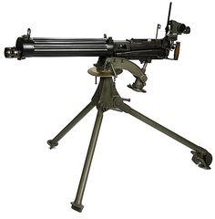 ww1 water cooled machine gun