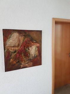 Acryl Kunst Acrylmalerei Abstrakt Leinwand Keilrahmen 80 x 80 cm Mischtechnik