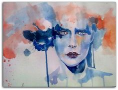 sad! - Painting by Afia Rafique in My Paintings at touchtalent 27835