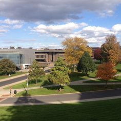 View of the Newhouse School Photo by @Gail Doss Lenhardt