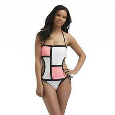 81513bcec626b U.S. Polo Assn. Women s Monokini Swimsuit - Sears Monokini Swimsuits
