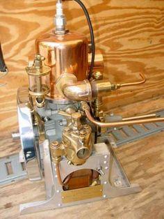 Old Marine Engine: Calvert 06