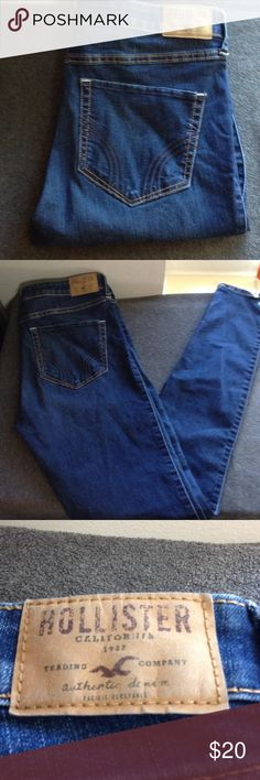 Hollister Super Skinny Jeans Hollister Super Skinny High Rise Jeans. These are next to new in great condition ❤️ 30/33. Hollister Jeans Skinny