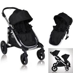 Oh Baby Jogger, I desperately wish we knew that the City Select stroller existed when our first baby was born.  It's an amazing stroller...and it would have saved us a ton of money.  Instead of buying a brand new double stroller, we would have just been able to purchase the second seat kit.  But, we're saying goodbye to our Baby Jogger City Elite and saying hello to the Baby Jogger City Select.  I sure do love this stroller.