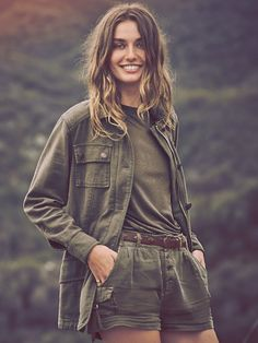 Free People Not Your Brothers Surplus Jacket, £128.00