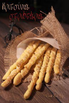 Κριτσίνια στριφτάρια Greek Cooking, Cooking Time, Cooking Recipes, Easy Recipes, Bread Bun, Bread Cake, Appetizer Recipes, Appetizers, Breakfast Snacks