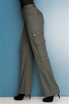 Stretch Cargo Pants (Get your discounted gift fashions here at: http://womensuniquefashion.blogspot.com/)