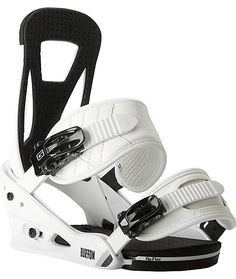 Improve your freestyle game while saving your feet with Burton's easiest riding binding in the Burton Freestyle white 2014 snowboard bindings. Ride longer with a new single-component lightweight bomb-proof polycarbonate Re:Flex baseplate with a Living Hin