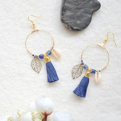 Etsy - Buy handmade, vintage, personalized and unique gifts for everyone Diy Earrings, Tassel Earrings, Beaded Jewelry, Jewlery, Unique Gifts, Bracelets, Creations, Etsy, Handmade