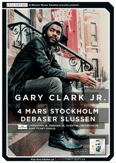 GARY CLARK JR. | 4 mars | Stockholm, Debaser Slussen |