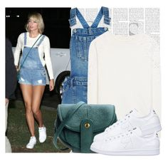 """Dress like Taylor Swift"" by megi32 ❤ liked on Polyvore featuring New Look, Alice + Olivia, Jérôme Dreyfuss and adidas"