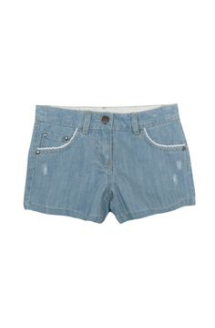 Mini shorts à patch dentelle fantaisie bleach Naf Naf