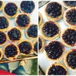 Super Simple Blueberry Tarts - Dinner With Julie Mini Blueberry Tarts, Blueberry Recipes, Tart Recipes, Sweets Recipes, Desserts, Fruit Recipes, Super Simple, Tart Filling, Stuffed Shells Recipe