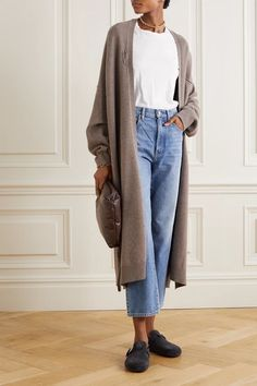 Cardigan Outfits, Casual Outfits, Cute Outfits, New Hijab, Mode Style, Swagg, Capsule Wardrobe, Everyday Fashion, Autumn Winter Fashion