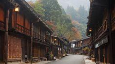The top 21 under-the-radar Destinations. Kiso Valley, Japan, Nakasendo, Tsumago, city