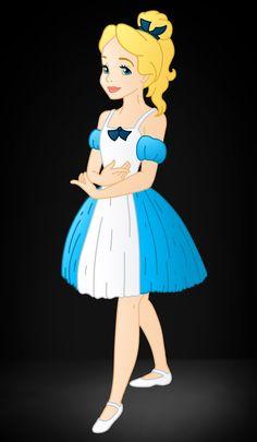 Ballerina Alice. Disney Ballerina's:Alice by Willemijn1991.deviantart.com on @deviantART