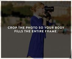 ways to look better in photos