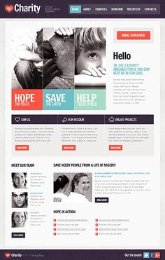 Layout for web design - responsive website