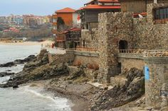 Sozopol, Bulgaria.  this is just outside of Burgas.  I love walking around in the old city and just people watching while sitting at a cafe.