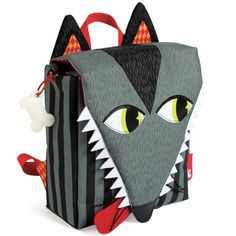 Wolf Toddler Backpack
