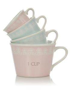 george home measuring cups 4 piece gift set