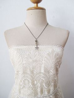 Grecian Boho Bride Ivory Vintage Short Wedding by localovespirate, $75.00