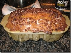 Cinnamon Sugar Swirl Chocolate Chip Pumpkin Bread
