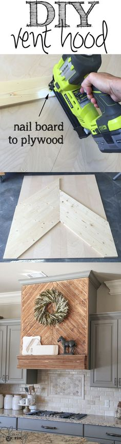 Easy and inexpensive way to update the look of your cabinets! Free tutorial at www.shanty-2-chic.com