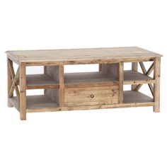 Grayson Coffee Table - Rustic Country on Joss & Main