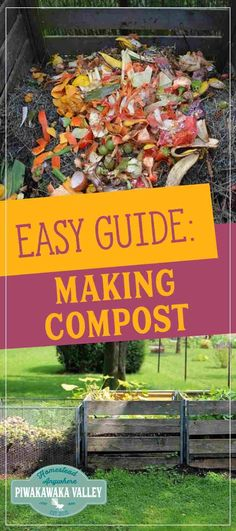 Building a compost pile is a necessary thing for your garden. Compost is very beneficial and it is a lot easier to get right than you might think! Find out how to do it today, or pin it for later! #urbangardeningvegetables #beginnergardening