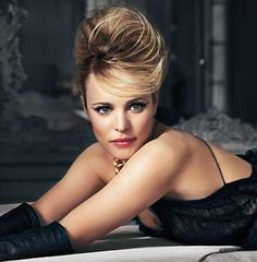 Rachel McAdams. Pretty sure she couldn't be any classier or more gorgeous..