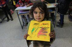Los niños sirios dibujan la guerra (FOTOS)