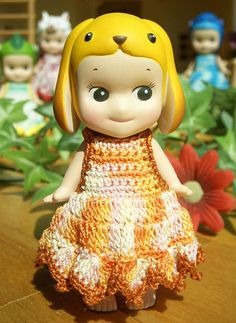 1pcs / Mix One-piece Dress For Sonny Angel / by HandKnitMania