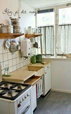 Precies zo zag onze keuken eruit!