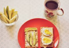 Morning Diaries - eggs and avocado toast