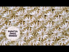 Discover recipes, living ideas, style inspiration and other ideas that you can try. Crochet Stitches Patterns, Knitting Stitches, Baby Knitting, Stitch Patterns, Knitting Patterns, Loom Knitting Projects, Knitting Videos, Stil Inspiration, Bag Crochet