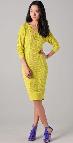 Rebecca Taylor Knit Dress thestylecure.com