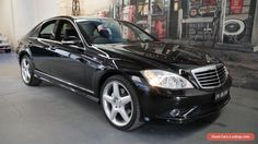 2009 Mercedes-Benz S350 W221 MY08 Black Automatic 7sp A Sedan #mercedesbenz #s350 #forsale #australia