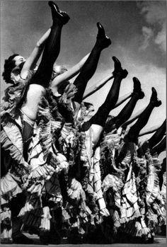 CanCan dancers...