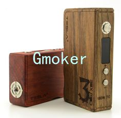 Authentic Tesla 160W Wood TC Box Mod Temperature Control 7W-160W mod fit Atlantis lemo 2 subtank mini VS Sigelei 150W 100w plus Telsa Wood 160W TC box mod = temperature control + no delay on fire buttom +  when you press the fire button,it won't work if there is no juice on the coil or heating wires     Instru  #Vaping http://www.vaporgasme.com/produk/authentic-tesla-160w-wood-tc-box-mod-temperature-control-7w-160w-mod-fit-atlantis-lemo-2-subtank-mini-vs-si