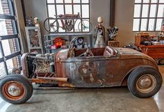 99 best cool rod bin images motorcycles, cool cars, motorcyclego away garage this is the old 32 roadster body that mike found on american pickers and had built in to a traditional rod no, its not a rat rod! want lake