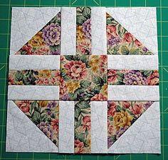 """Paths & Stiles Quilt Block Pattern - 9"""" Blocks"""